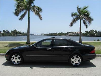 S-Class S55 AMG LOW MILES CLEAN CARFAX 430 500 NON SMOKER! 2001 MERCEDES BENZ S55 AMG LOW 80K MILES CLEAN CARFAX NON SMOKER 500 MUST SELL!