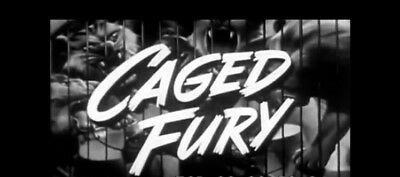 Caged Fury 16mm Film