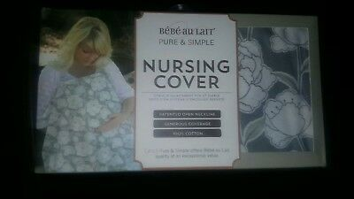 Bebe au lait pure and simple nursing / breastfeeding cover brand new.