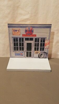 "2001 ENESCO Mary's Moo Moos ""Gas Station Display"" W/BOX 930040"