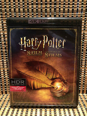 Harry Potter 4K 8 Film Collection (8-Disc Blu-ray, 2017)JK Rowling.Complete Set