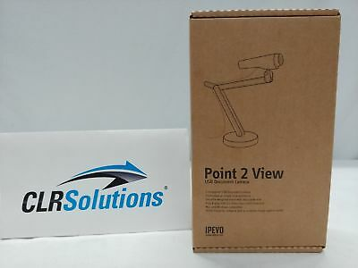 IPEVO Point 2 View CDVU-03IP 1600x1200 USB Document Camera with Stand BRAND NEW