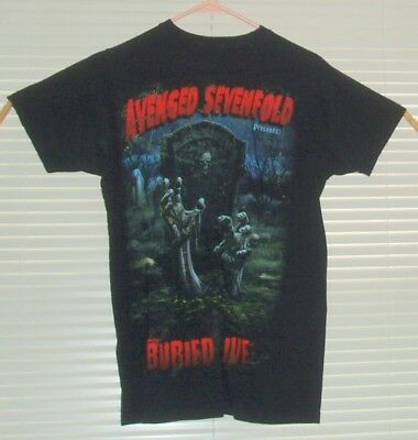 Avenged Sevenfold presents Buried Alive T-shirt  size Small ?  Spooky Graphic