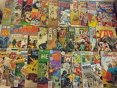 Comics Lot Of 38 Assorted 60's ,70's ,80's (Great Deal)