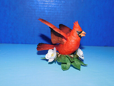 Cardinal  Imported Issue Lenox Garden Bird Sculpture Collection