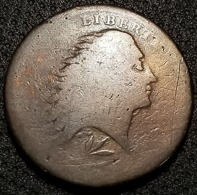 1793 Large Cent Wreath Style/Lettered Edge S-11b R-4
