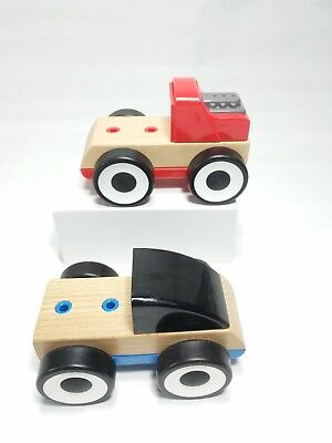 Ikea Lillabo Toy Car Red, Shape Sorter, Multicolour Play & Learn Puzzle For Kid