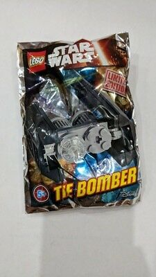 LEGO Star Wars - Super Rare 911613 Tie Bomber Foil Pack - Limited Edition