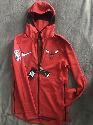 a0d7f09cd491 Chicago Bulls Nike Therma Flex Showtime Men s NBA Hoodie Size M (University  Red)