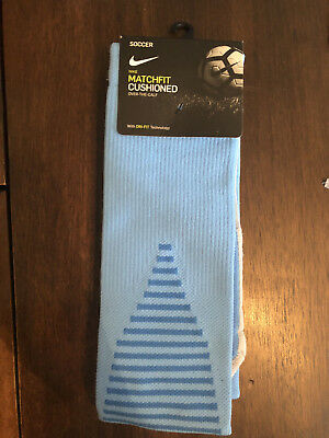 2ae8d40dd2a3 Nike Team Matchfit Core OTC Cushioned Soccer Socks SX5730 412 Men s 12-15 sz  XL