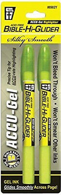 Accu-gel Bible Hi-Glider (2-pack) (yellow)