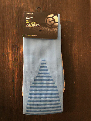 1adad93cb8b8 Nike Team Matchfit Core OTC Cushioned Soccer Socks SX5730 412 Men s 8-12 sz  L