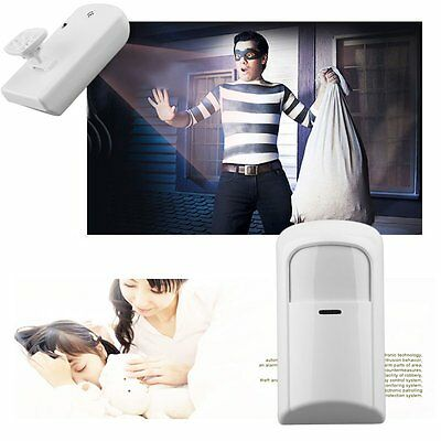 New Wireless PIR Motion Sensor Detector For Home Security Alarm System 433MHZ MA