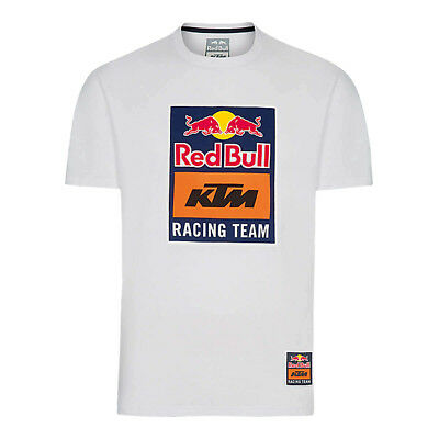 Red Bull T-Shirt KTM Racing Team Logo - Weiß