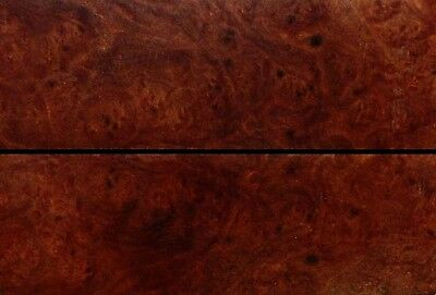 Australian Marbled Red Mallee Burl Wood Knife Scales (Bookmatched)