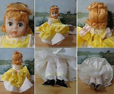 Vintage Madame Alexander Doll Amy #411 Tagged with Original Booklet NEW