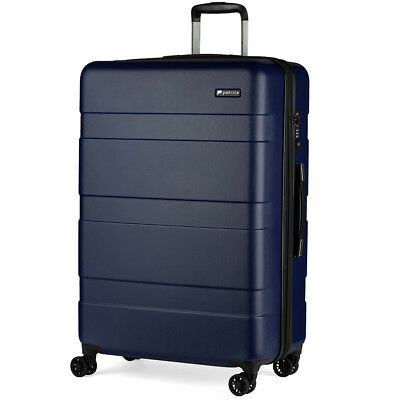 NEW Paklite Equator Expandable Spinner Case Navy 77cm