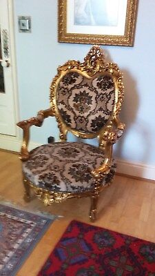 Rococo style armchair, French