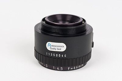 Enlarger Lens Rodenstock Rogonar-S  1:4,5 f=66MM