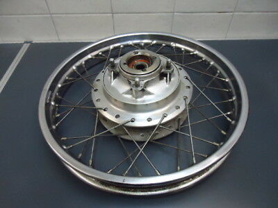 Honda CB 350 400 500 550  Four 74 27005 km Hinterrad rear wheel 1,85 X 18