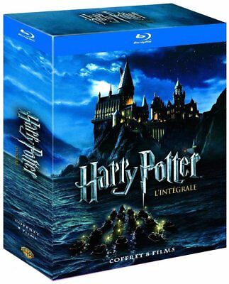 Harry Potter Teil 1 - 8 Blu-ray Komplettset Box Limited Edition complete NEU OVP