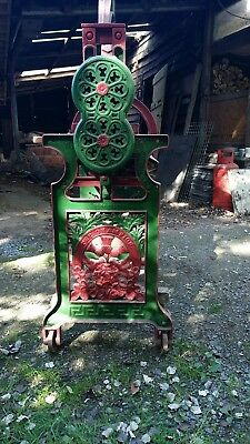 old mangle restored full working order. C s s a champion