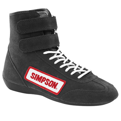 Simpson Hi-Top Fahr Autorennen Schuhe SFI5 6 7 8 9 10 11 12 13 UK' Fire