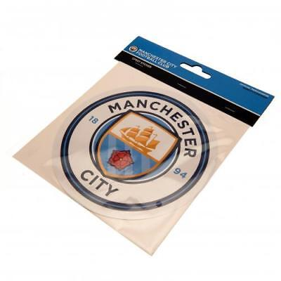 Manchester City Fc Large Sticker For Use On Laptop Wall 18 Cm  New Xmas Gift