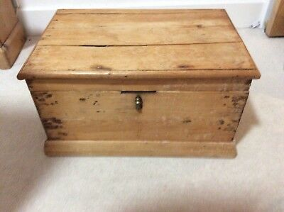 Antique Pine Chest - very attractive