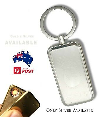 AU Lighter Electric Rechargeable + keychain  USB Windproof