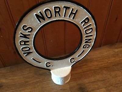 North Riding Yorkshire finger post