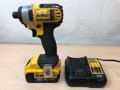 DeWALT DCF885 18V Cordless Impact Driver - With 4.0AH Battery & Charger AH 58079