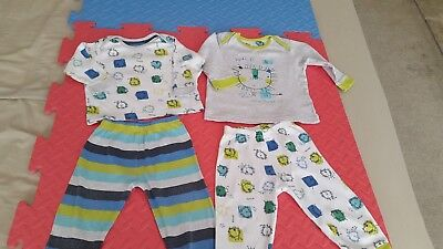 2 x Baby pyjamas from Mothercare  - 9/12 months