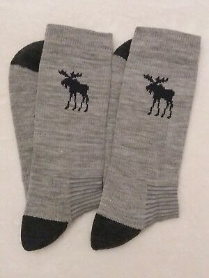 Merino Wool Grey Hiking / Walking socks ONLY  £3.89!! with FREE POST TO UK