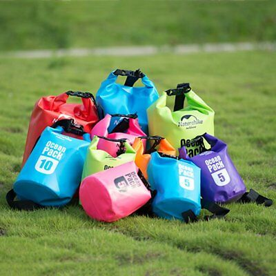 5L-20L Waterproof Pouch Camping/Dry Bag for Kayaking Canoeing Rafting Swim