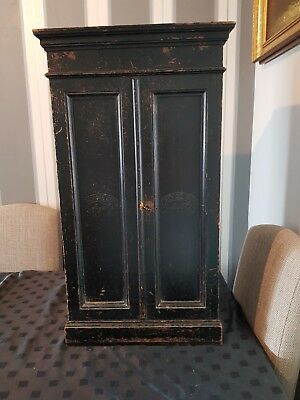 Antique Cigar humidor cabinet
