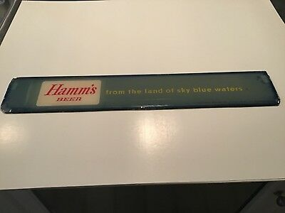 Hamms Glass Beer Sign