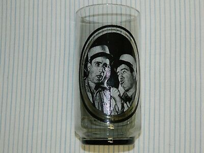 """1979 Arby's Abbott & Costello """"In The Foreign Legion"""" Collector's Series Glass"""