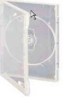 NEW GENERIC DVDCASE-1C DVD CASE: SINGLE SIDE CLEAR....f.