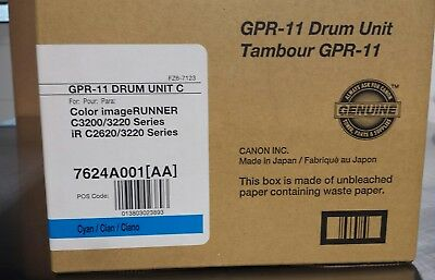 New ! Genuine Canon GPR-11 Cyan Drum Unit - 7624A001AA - Free Shipping !