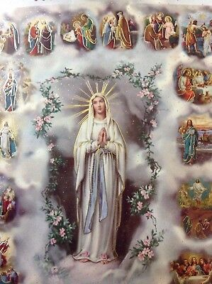 Rosary PRAYER Book How to Pray the Rosary Mysteries of the Rosary 33 pages