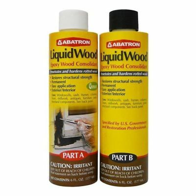 Abatron LWAB6OR Liquid Wood Kit, 12 Oz
