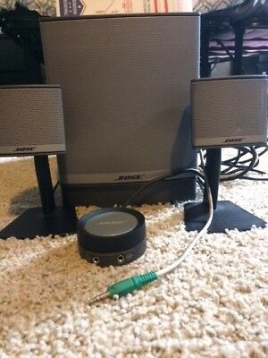 Bose Companion 3 Series II Multimedia Computer Speaker System