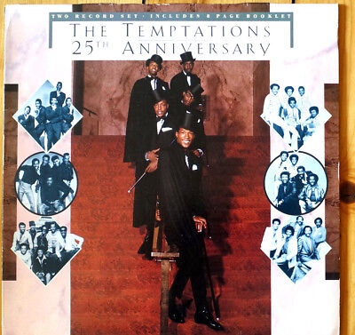 THE TEMTATIONS - 25th Anniversary - 2 LP Vinyl