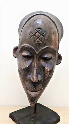 Old Tribal Songye Mask D R Congo Fes-2343