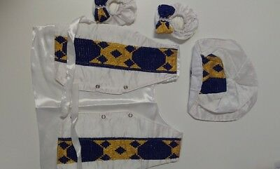 Ethiopian traditional dress for baby BOY - SIX pieces- hand made 100% cotton