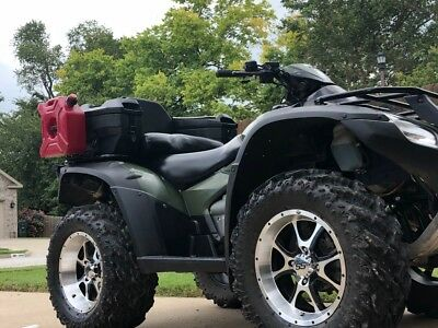 2012 Honda Rincon TRX680 EFI Big Foot Kit Warn Winch Moose bumper 4x4 2x4 auto
