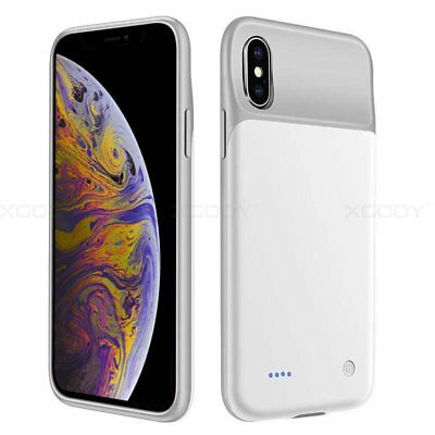 For Apple iPhone Xs Battery Case Rechargeable Charger Portable Charging Cover
