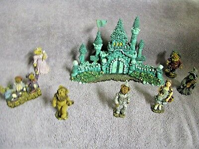 "Boyd's Bears Wizard Of Oz ""the Emerald City Figurine Set"