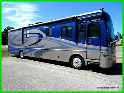 2007 Fleetwood Discovery CATERPILLAR DIESEL PUSHER 39ft LOW MILES LOW RESERVE